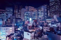 Foto por Cody Ellingham, proyecto DERIVE, Tokyo. > fotografia urbana, paisajes de citadinos, inspiracion, urban landscapes, cool photos, neon, inspiration, increibles.