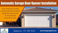 Automatic Garage Door Opener Installation For Homes And Businesses Garage Door Opener Installation Garage Door Repair Service Garage Door Repair