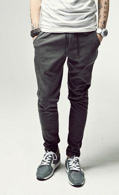 Mens Winter Thickened Casual Athletic Hip Hop Sporty Harem Tapered Skinny Sweat Pants Slacks Trousers Sweatpants Sport Pants