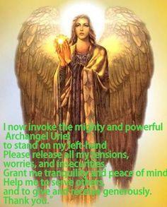Archangel Uriel ~ Please help me release