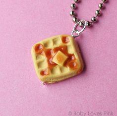 Waffle Necklace!
