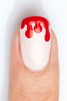 Halloween Nail Art So Simple, It's Scary
