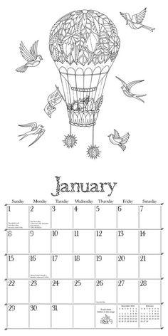 free calendar doodling printables   Zentangle/Doodles   Pinterest ...