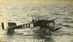 Short 184 Seaplane of the type flown by Flight Lieutenant Frederick Rutland from HMS Engadine when he spotted the German fleet at the start of the Battle of Jutland