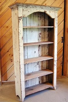 Kentwood bookshelf do it yourself home projects from ana white repurposed wood book shelf solutioingenieria Images