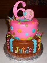 HIPPIE CHICK — Birthday Cakes
