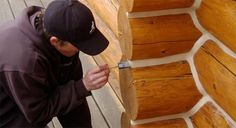 """What is Chinking? Chinking is the material that fills the gap between logs in a log home. A properly built Scandinavian 'Chinkless' style of log home will have no chinking at all (thus the name 'Scandinavian Chinkless' rather than """"Scandinavian Chinked""""). The Saddle Notch, Butt and Pass, and Dovetail (or Appalachian style) will all have …"""