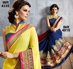 Nowadays even in this contemporary lifestyle this fabulous attires have a very special place in the heart of every individual. No wedding or even a party doesn't get completed with these gorgeous sarees. For More Beautiful Sarees Collection : http://goo.gl/mJrR8m