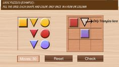 Math is easier, fun with logic. Cool logical puzzle iphone/ipad app for elementary school kids. Builds logical thinking, problem solving skills and focus.