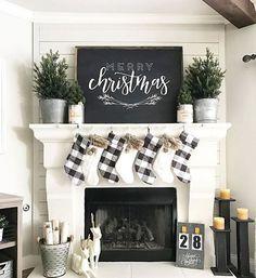 Such Cute Farmhouse Christmas Decor