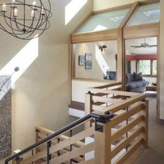 Contemporary Wood Railing Design, Pictures, Remodel, Decor and Ideas - page 13