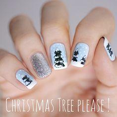christmas by pshiiit_polish #nail #nails #nailart