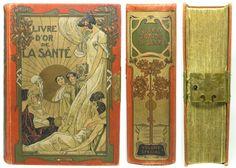 Beautiful art nouveau book design.