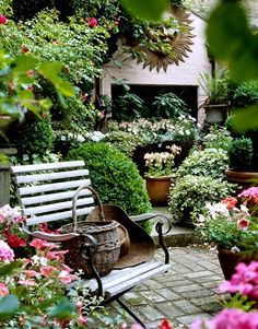 Shabby Chic Garden Interior