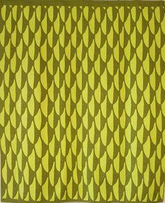 'Ahu 'Ula design, two-toned, green,  Michael Pechinski