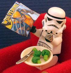 ohjappy: Desayunando y Leyendo un poco de Wolverine