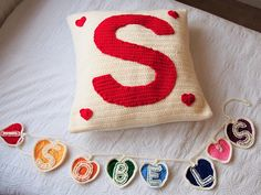 Personalised bunting and cushion gift set discounted set Personalised Bunting, Personalized Pillows, Monogram Pillows, Gifts For Kids, Gift Guide, Coin Purse, Etsy Seller, Cushions, Handmade Gifts