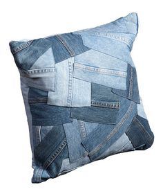A good use for all of those old jeans!!!