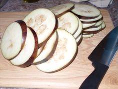 sliced eggplant Eggplant Chips, Eggplant Dishes, Baked Eggplant, Eggplant Parmesan, Vermont, Baking, Vegetables, Eat, Food