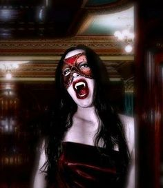 Vampire Laura-Masquerade by on DeviantArt Vampire Love, Female Vampire, Vampire Pictures, Vampire Images, Victorian Photography, Vampire Bites, Creatures Of The Night, Dark Beauty, Beautiful Creatures