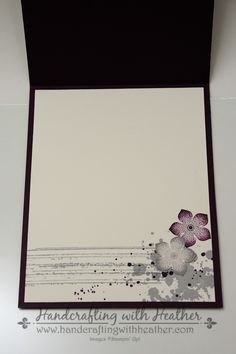 Gorgeous Grunge & Petite Petals (11 of 18) - inside of card