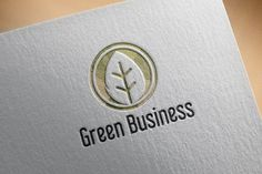 Circle Green leaf Ecology Business Templates ***Circle Green leaf Ecology Business***This design is suitable for companies / product in the sec by jongcreative