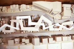 Kotaro Toshima | Excellent Work Exhibition | Musashino Art University Museum of Art Architecture Concept Drawings, Modern Architecture Design, Landscape Architecture, Social Housing Architecture, School Architecture, Rehabilitation Center Architecture, Plan Maestro, Rest House, Arch Model