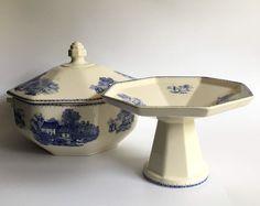 Online veilinghuis Catawiki: Boch Frères - Art Deco dekselpot en tazza