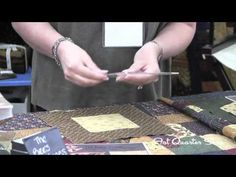 ▶ Layered Patchwork Demonstration featuring Hexagons - Kansas Troubles Quilters - YouTube