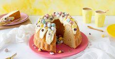 Paas tulband - Recept - Koopmans.com Doughnut, Lunch, Desserts, Food, Tailgate Desserts, Deserts, Eat Lunch, Essen, Postres