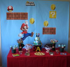 Every Little Detail Event Planning and Design: It's Super Mario Time!