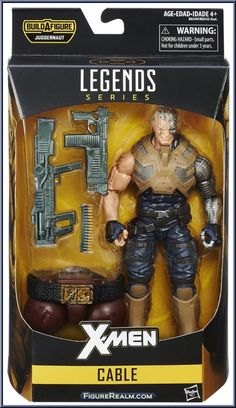 Cable from Marvel Legends - Infinite Series - Juggernaut Series manufactured by Hasbro [Front]