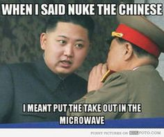 kim jong un nuke the chinese