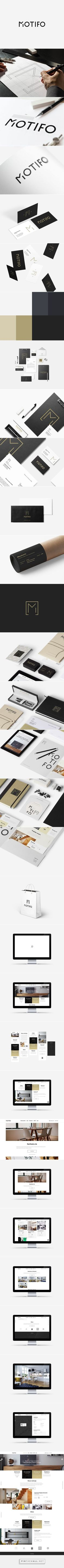MOTIFO - Interior Design Architect | Branding & Website on Behance - created via http://pinthemall.net /