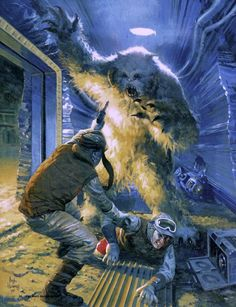 Star Wars. Missing the wampa attack scene in ESB...