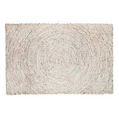 Shop Ripple Effect Rug.  The effects of this hand-tufted rug can be felt all the way to the outer edges of your room.  That's because it features an intricate circular pattern using various colors.