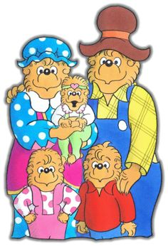 Berenstein Bears - Love these books - especially the ones where Papa Bear tries to teach them by showing how it should not be done!