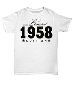 1978 Limited Edition any year personalized Birthday Party Birthday Shirts, Trending Outfits, Prints, Mens Tops, Usa, Stuff To Buy, Party Ideas, Games, Shopping