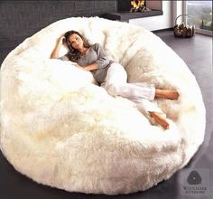 huge bean bag chairs Many thanks for stopping by here. Below is a great picture for huge bean bag chairs. Giant Bean Bag Chair, Giant Bean Bags, 2 Person Bean Bag Chair, Huge Bean Bag, Bean Bag Bed, Pit Couch, Cozy Place, My New Room, Home Interior Design