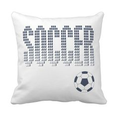 #Zazzle #Soccer #Sports #Pillow
