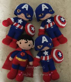 Capitán América, superman