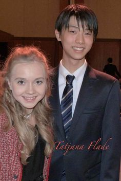 Yuzuru Hanyu(JAPAN) and Elena Radionova(Russia)