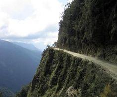 North Yungas Road, Bolivia