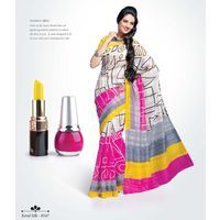 Buy Glorious Multicolor printed Saree online - Shoppervilla