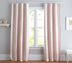 Girls Window Panels & Roman Shades | Pottery Barn Kids