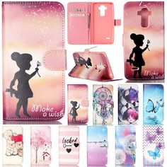 ef0efaca57d Fashion Flip Leather Wallet Card Stand Case Cover For Lg G4 Stylus/G Stylo/