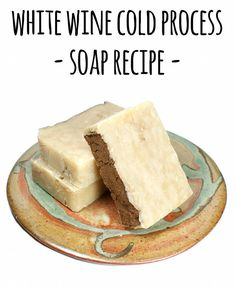 This cold process wine soap recipe is a creative way to use up that leftover wine that's sat in the fridge too long or simply wasn't too your liking.