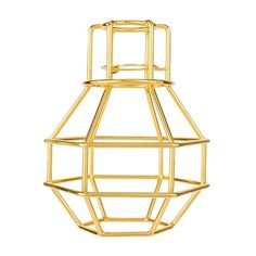 Mix and Match Bronx Pendant Shade  Gold Colour