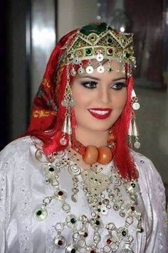 Traditional Amazigh clothing