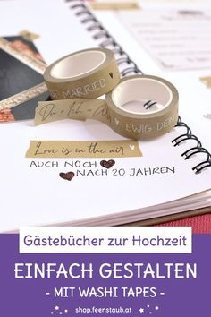 Tapas, Save The Date Karten, Washi Tape, Love Is In The Air, Round Sunglasses, Paper Mill, Time Capsule, Guestbook Ideas, Map Invitation